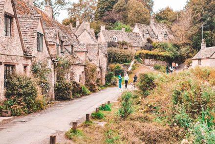 arlington row, bibury, gloucestershire, cotswolds, england