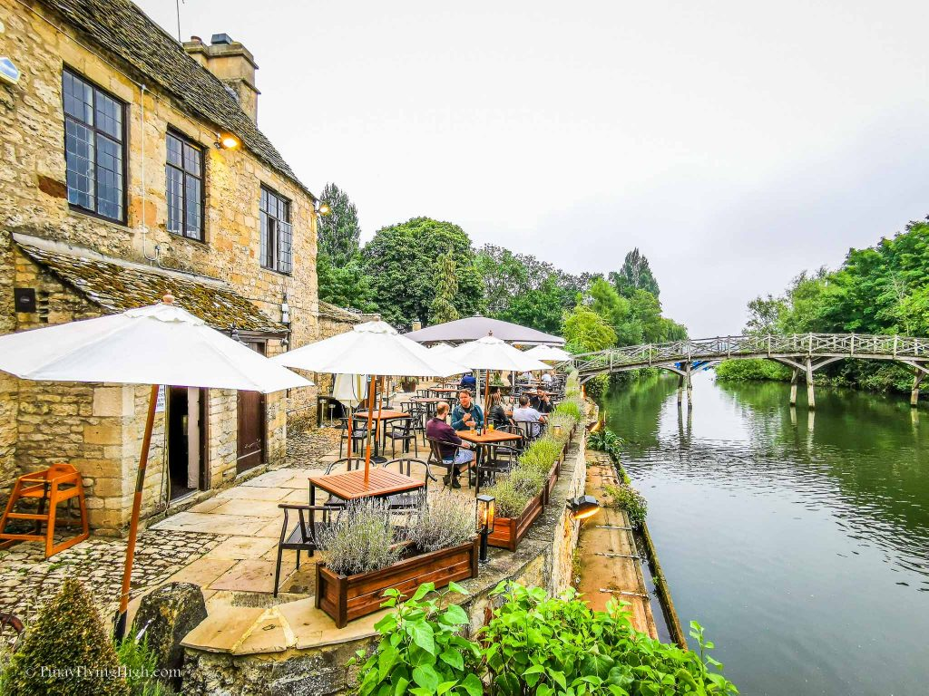 The Trout Inn, Oxford, Cotswolds, England