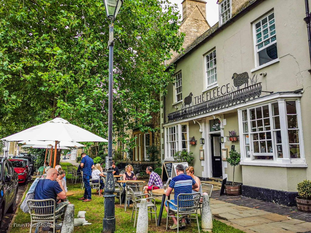 The Fleece Inn, Witney, Oxfordshire, Cotswolds, England