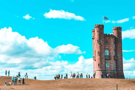 The Broadway Tower, Worcestershire, Cotswold, England
