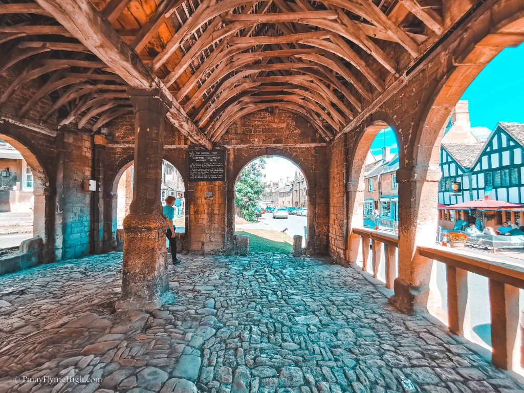Ancient Market Hall at Chipping Campden, Cotswold, England