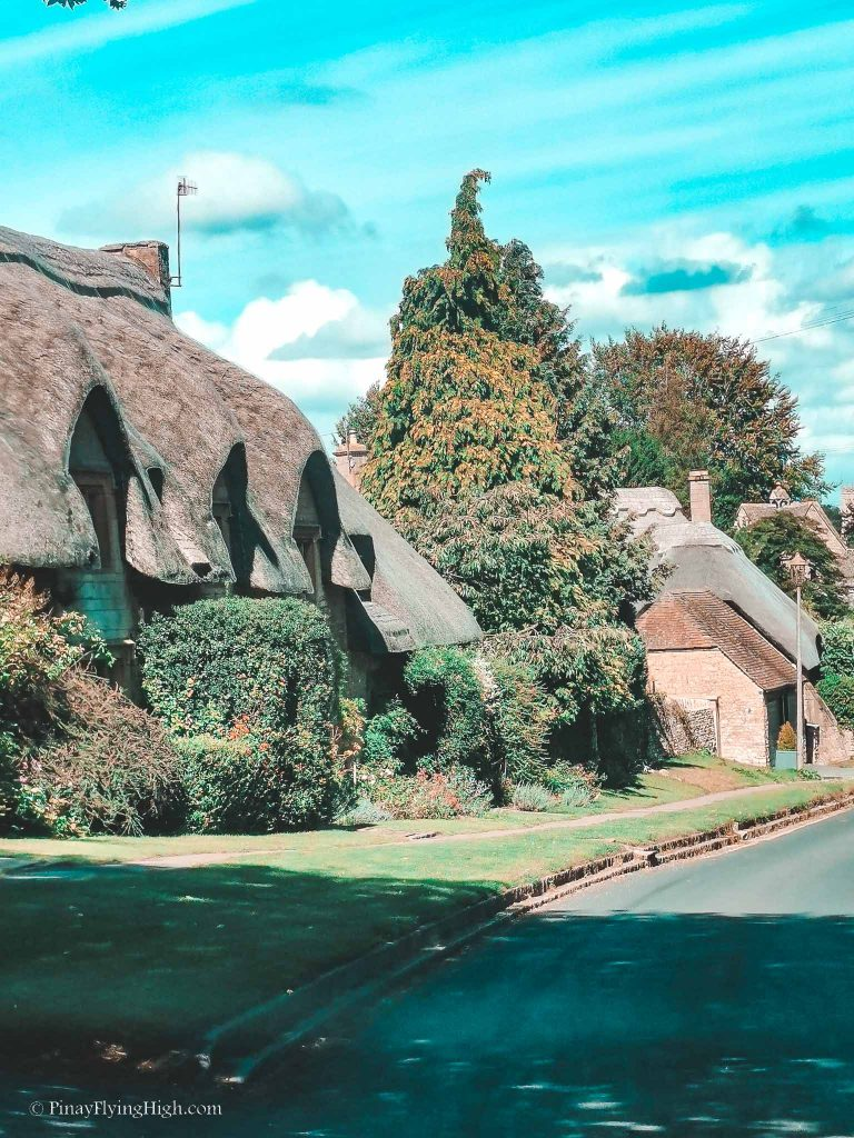 Thatch House in Chipping Campden, Cotswold, England