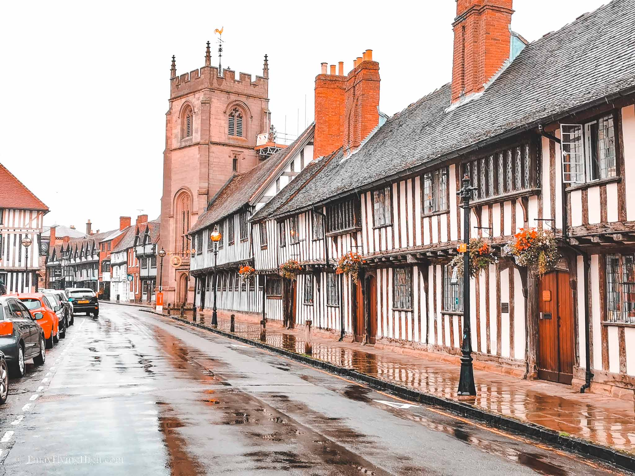 Shakespeare's Schoolroom and Guildhall, Stratford-Upon-Avon, Cotswold, England
