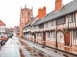 stratford-upon-avon, cotswold, england