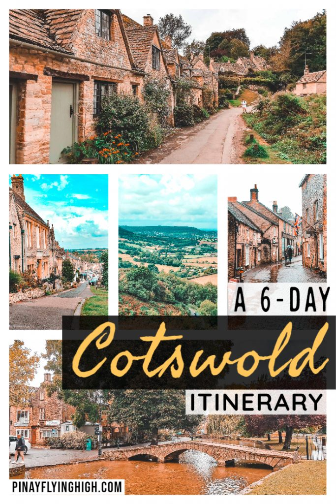 A 6-DAY COTSWOLD ITINERARY