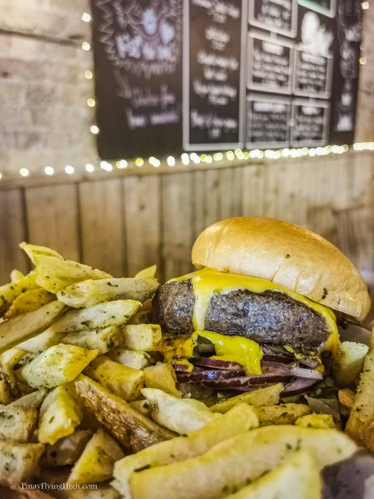 Tribute Burger at Honest Burgers Chiswick, London, England-103