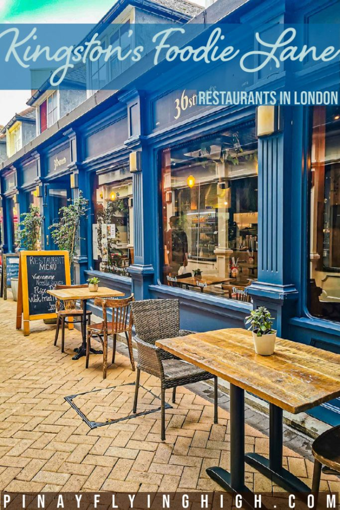 Kingston's Foodie Lane, London, England