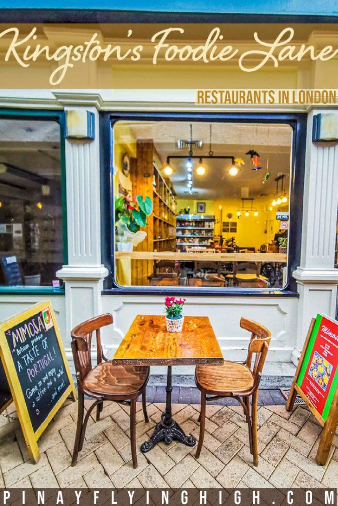 Kingston's Foodie Lane, London, England
