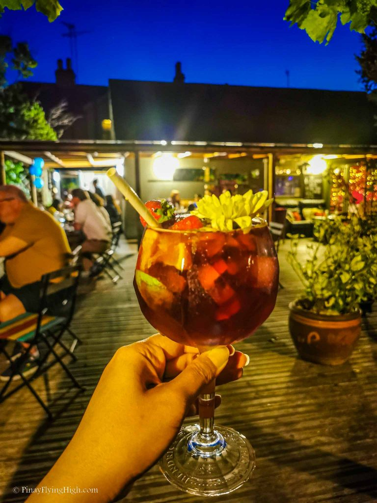 Sangria at Pottery Tapas Bar Kingston, London