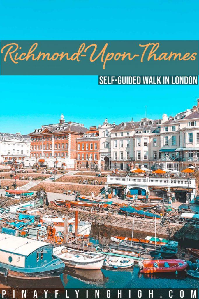 Richmond Self-Guided Walk, London, England