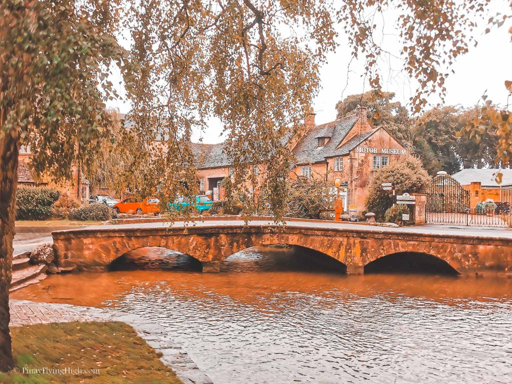 Bridges in Bourton-On-The-Water, Cotswold, England