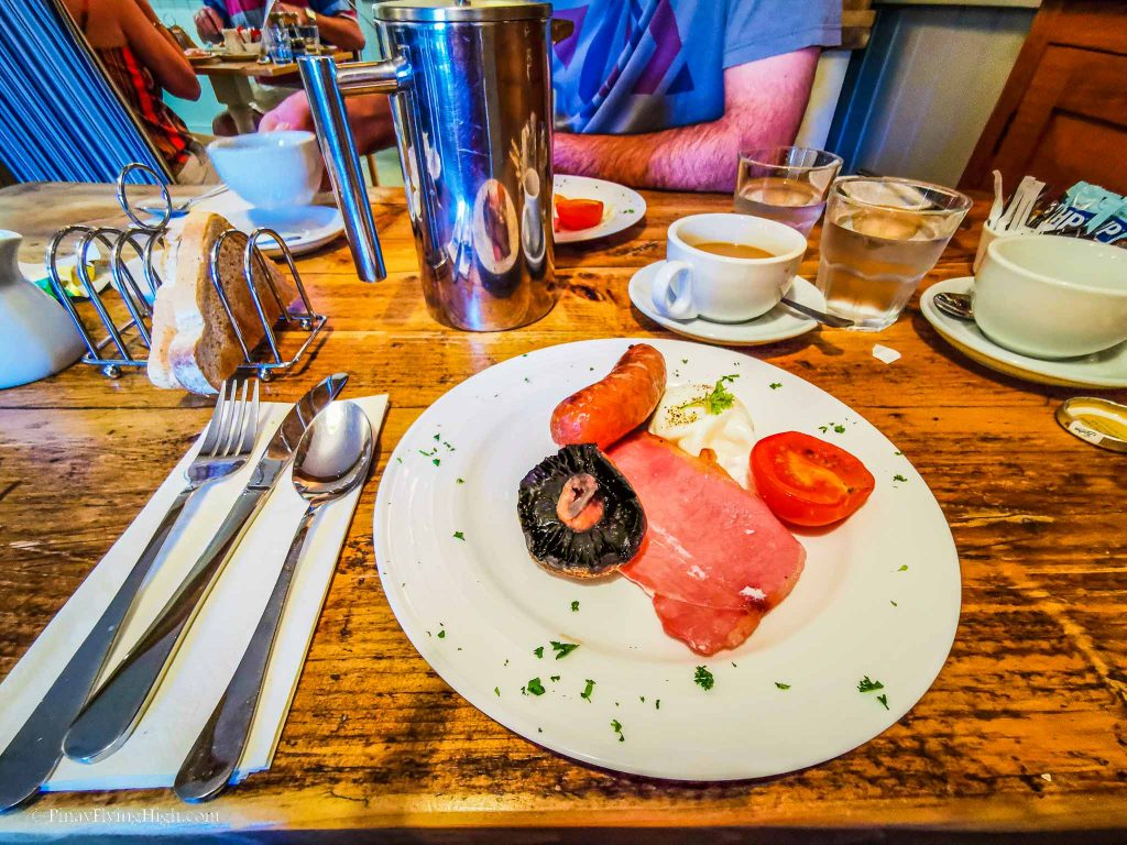 Breakfast at Lansdowne Guesthouse, Bourton-On-The-Water, Cotswold, England