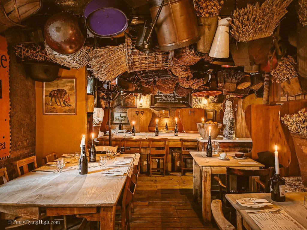 Maggie Jones's Restaurant, Kensington, London, England-101