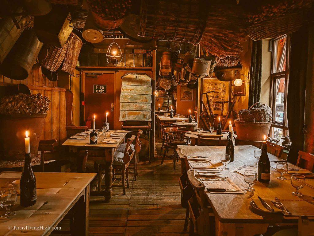 Maggie Jones's Restaurant, Kensington, London, England-103