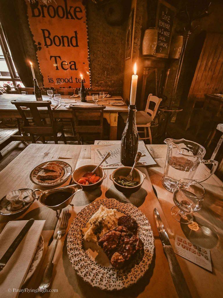 Maggie Jones's Restaurant, Kensington, London, England-107