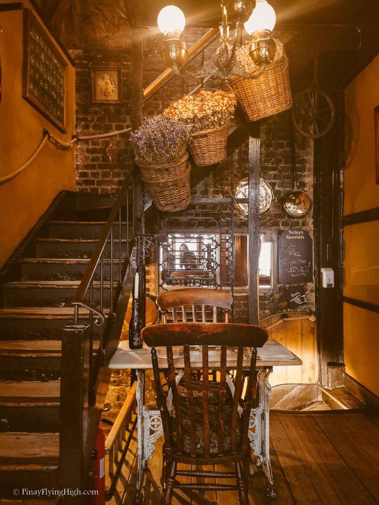 Maggie Jones's Restaurant, Kensington, London, England-112