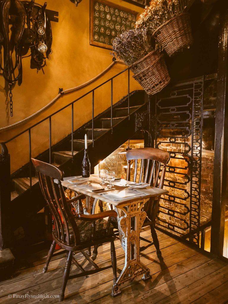 Maggie Jones's Restaurant, Kensington, London, England-114