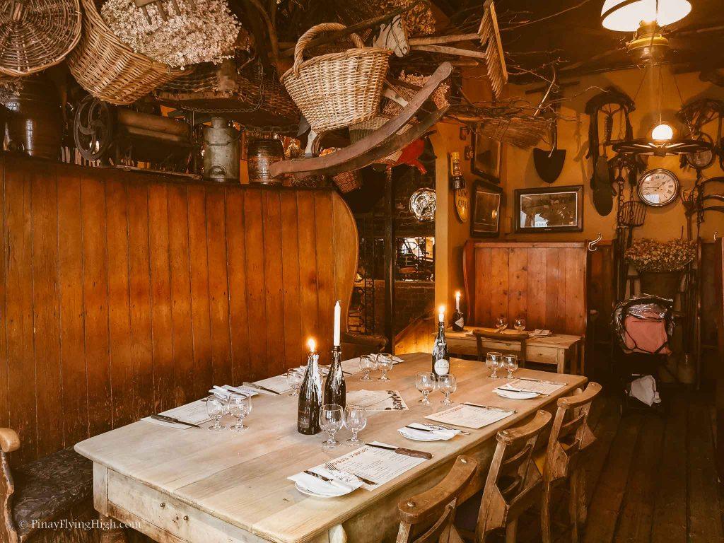 Maggie Jones's Restaurant, Kensington, London, England-118