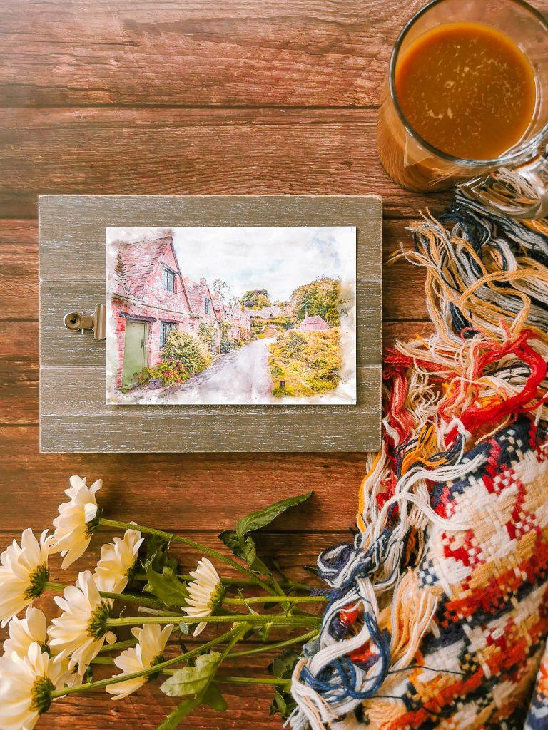 Bibury, Cotswolds Travel Postcard